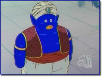 Blue Mr. Popo