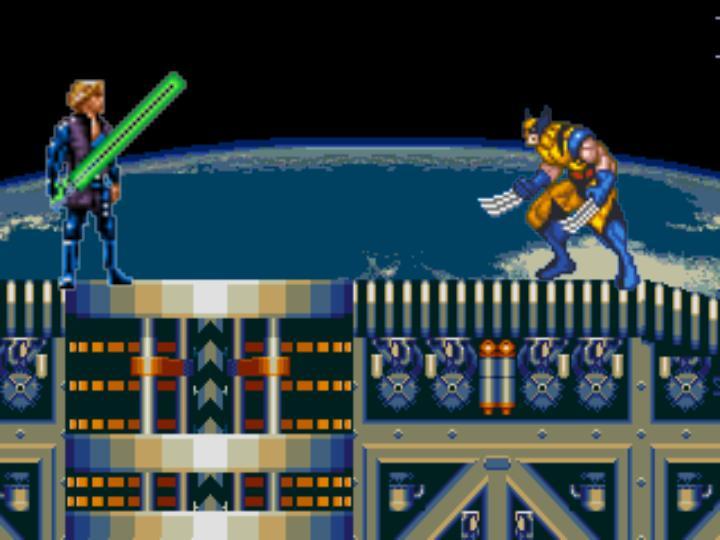 Luke Skywalker Vs. Wolverine (Logan)