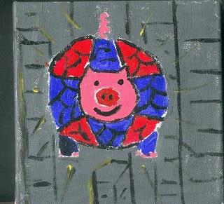 Baby Spider-Pig