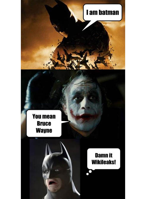 Batman e Coringa TOC TOC JOKE I´m Batman