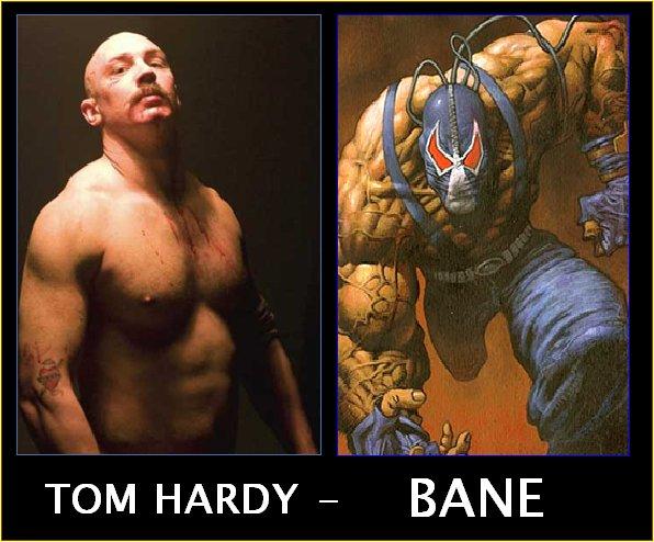 Tom Hardy - Bane