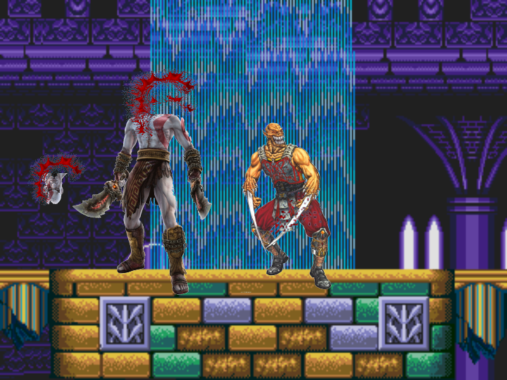 Baraka Vs. Kratos - Baraka kill The God of War