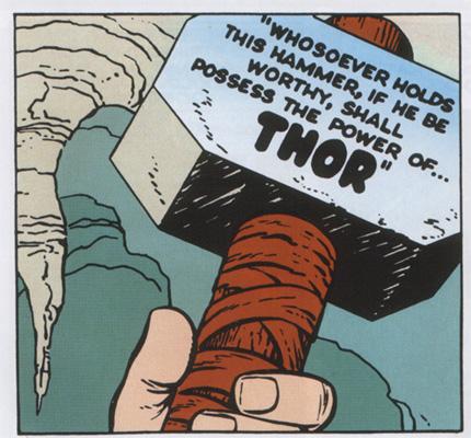 Mjolnir - O Martelo do Thor