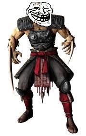 Mortal Kombat - Baraka Troll Face
