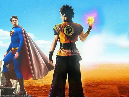 Superman Vs. Goku - The Movie in Live Action Confirmado/ Dragon Ball Z/Shonen Jump/DC Comics/Toei Company/Warner Bros