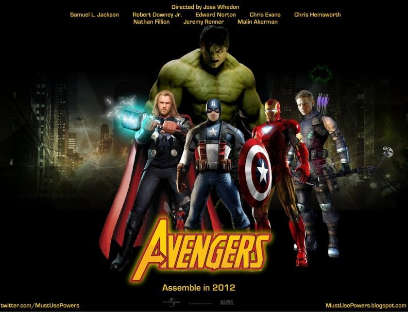 Avengers - Fan Poster - 2012