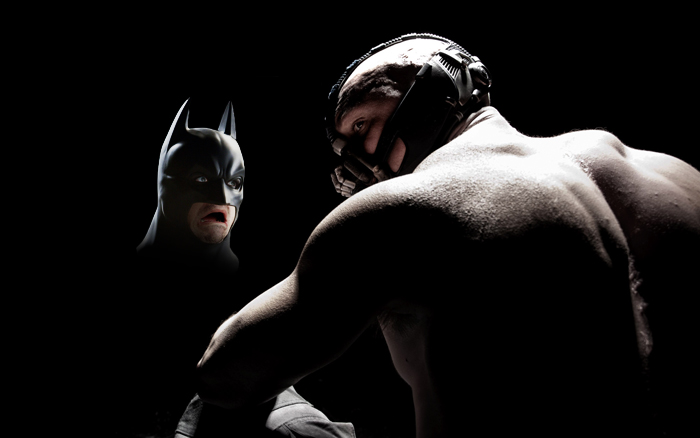 Batman sees the New Bane