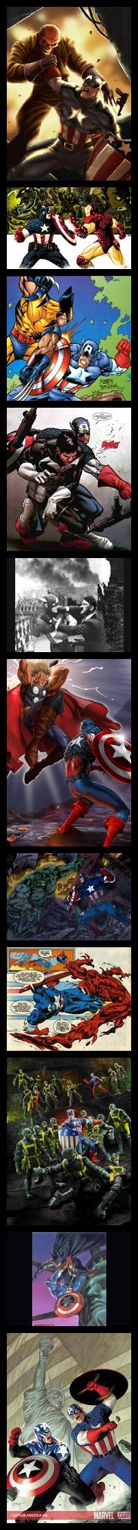 Captain America Vs All