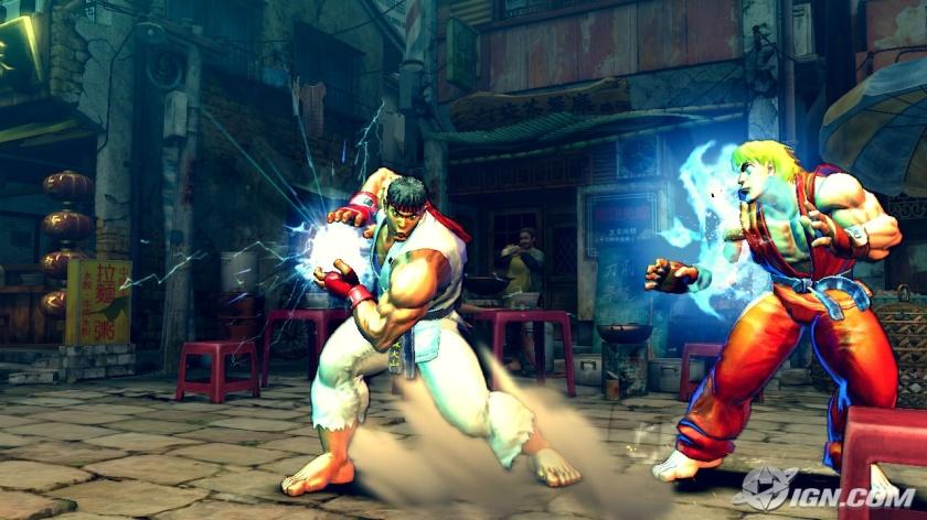 Street Fighter IV - Ryu Vs. Ken