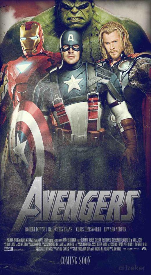 The Avengers - Fan Poster