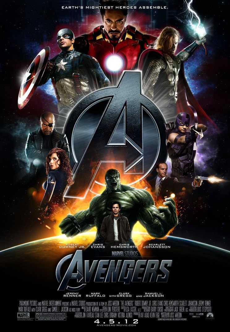 The Avengers - The Movie - Fan Poster
