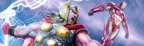 Thor e Homem de Ferro