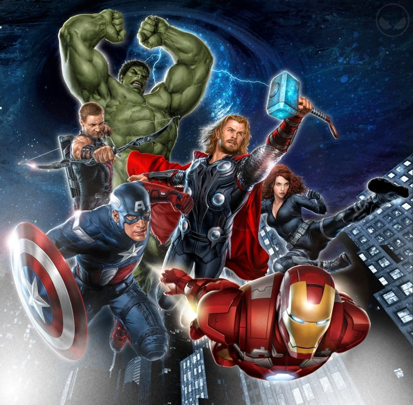 The Avengers - First Poster High Quality