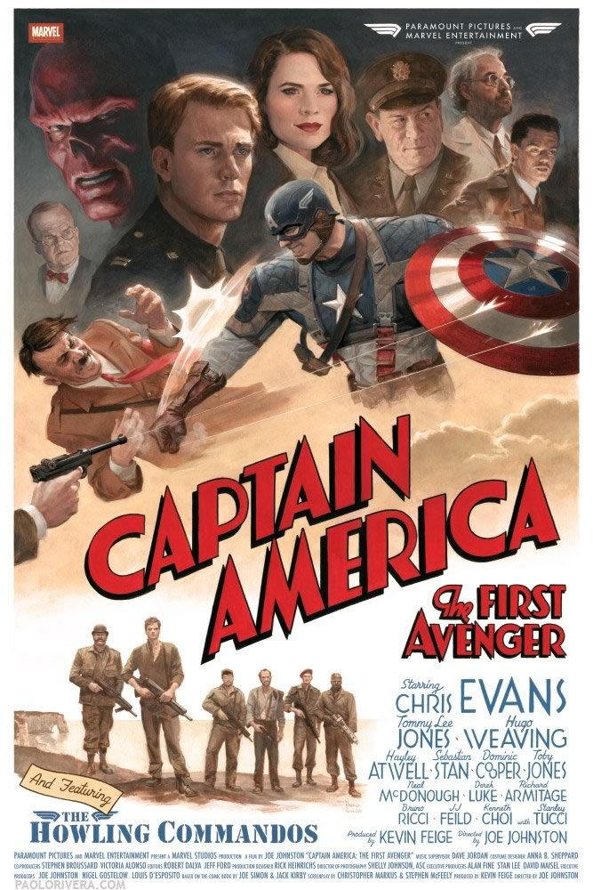 Captain America - The First Avenger - Estréia amanhã 29 07 2011