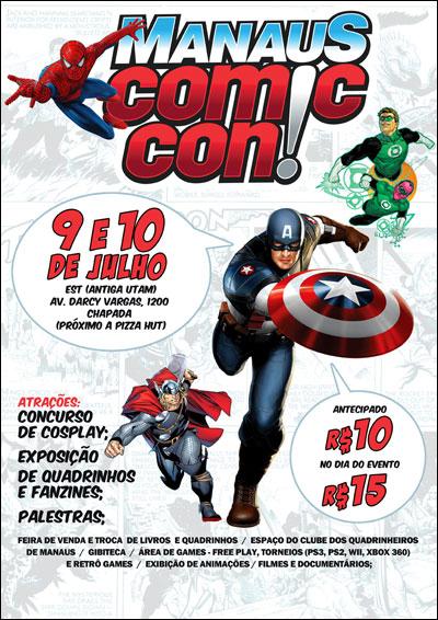 Manaus Comic Con - 9 e 10 de Julho de 2011