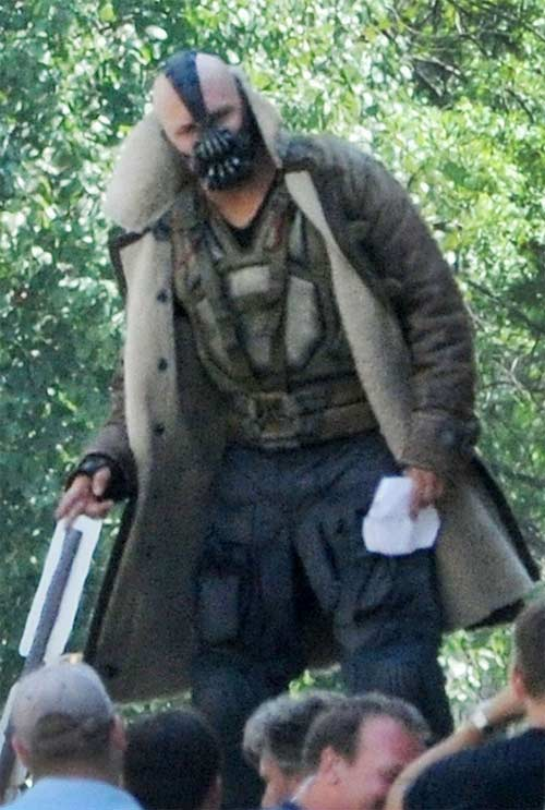 The Dark Knight Rises - Bane Tom Hardy - Visual Atualizado 2