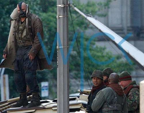 The Dark Knight Rises - Bane Tom Hardy - Visual Atualizado