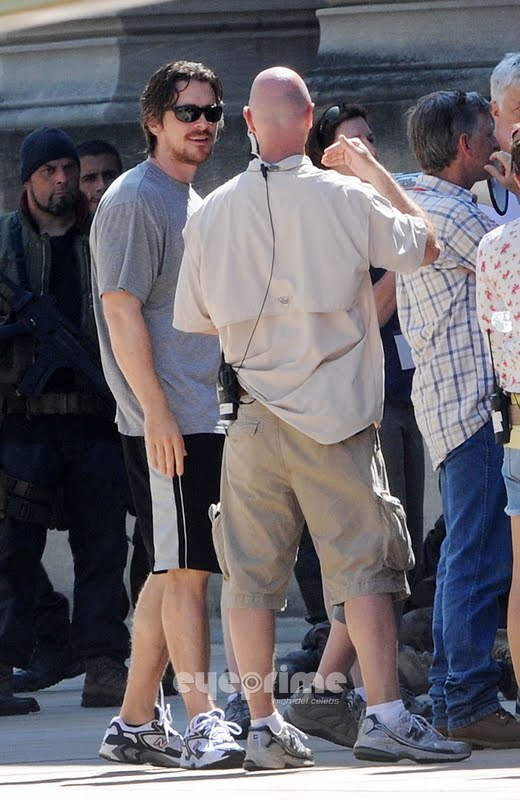 The Dark Knight Rises - Fotos do Set - Christian Bale