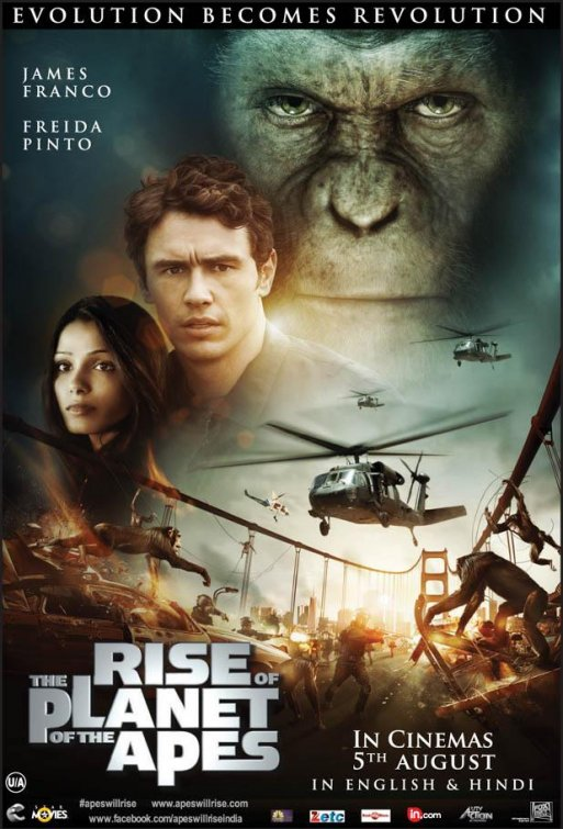 Rise of the Planet of the Apes (Planeta dos Macacos - A Origem)
