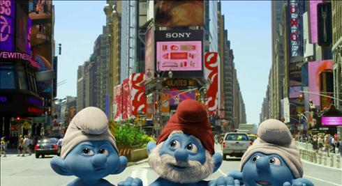 Smurfs 2 confirmado pelo estúdio