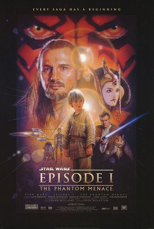 Star Wars Episode I The Phantom Menace 3D