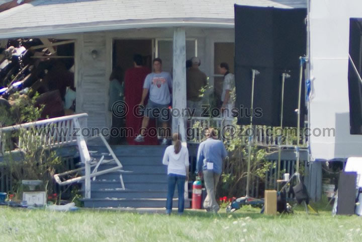Superman - Man of Steel - Fotos do Set - Superman 02