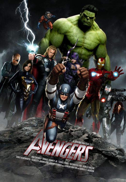 The Avengers - Fan Made Poster