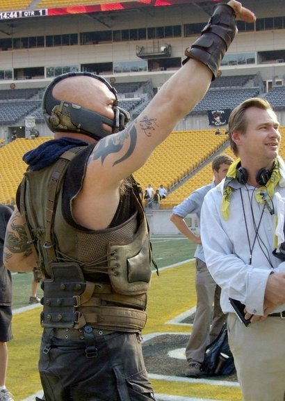 The Dark Knight Rises - Bane with Christopher Nolan