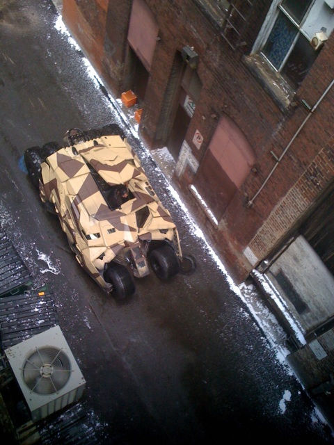 The Dark Knight Rises - Fotos do Set - Alley Near AIA Chapter (Pittsburgh) - Tumbler