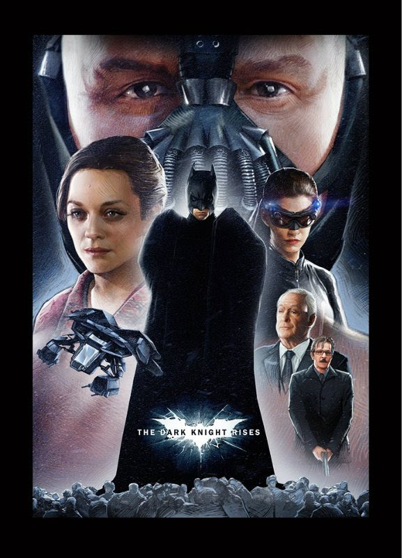 The Dark Knight Rises - Star Wars Poster