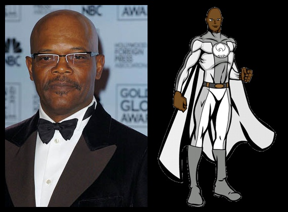 Super-Obama - Samuel Lee Jackson