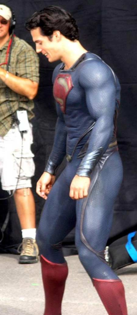 Superman - Man of Steel - Fotos do Set - Superman 04