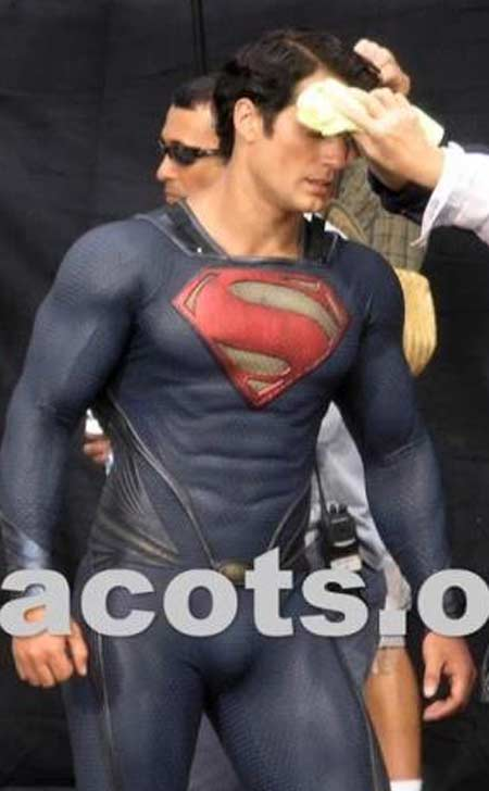 Superman - Man of Steel - Fotos do Set - Superman 05
