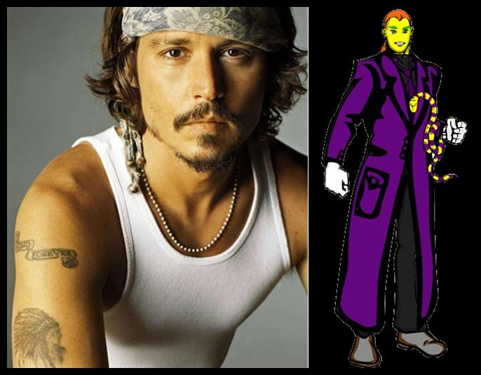 Surucucu Prince - Johnny Depp