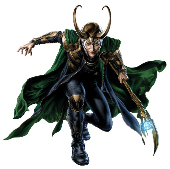The Avengers - Loki - Concept Art
