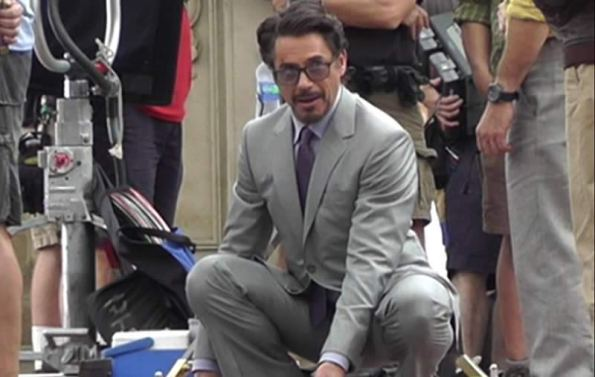 The Avengers (Os Vingadores) - Fotos do Set - Tony Stark Robert Downey Jr. 02