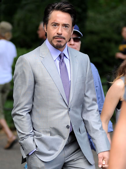 The Avengers (Os Vingadores) - Fotos do Set - Tony Stark Robert Downey Jr. 03