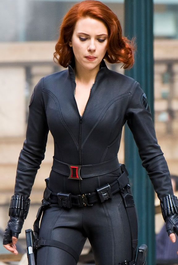 The Avengers (Os Vingadores) - Fotos do Set - Viúva Negra (Black Widow) em Nova York 02