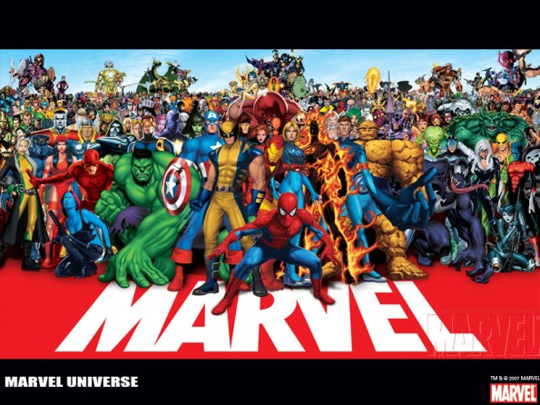 Marvel Comics - Top 50 - Best Characters