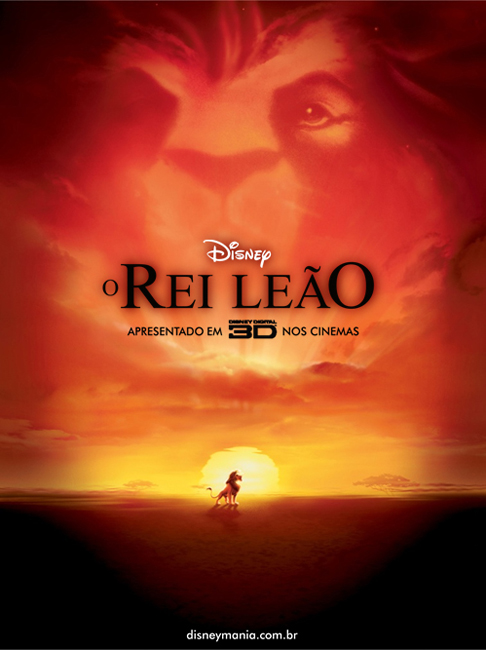 Rei Leão 3D