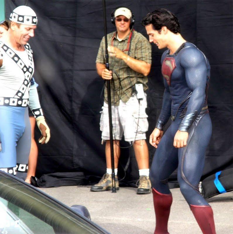 Superman - O Homem de Aço  Henry Cavill diz que Christopher Reeve não será fonte de inspiração no filme
