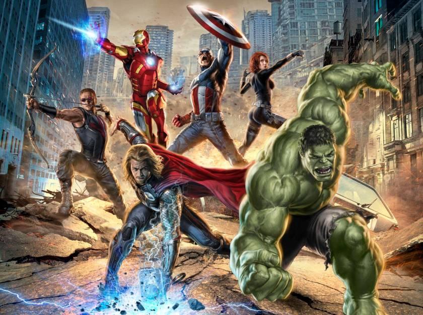 The Avengers - Poster