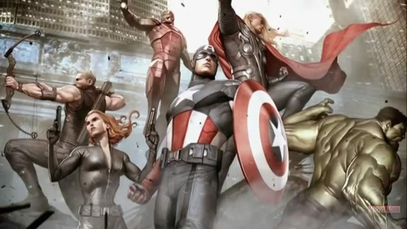 Vingadores (The Avengers) - New Concept Art