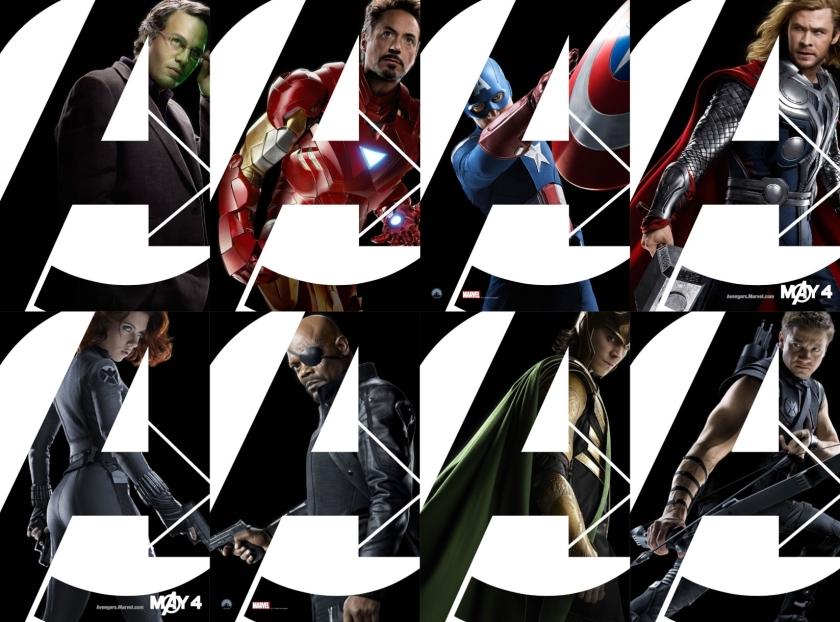 Avengers Banner Mosaico