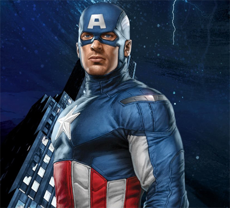 The Avengers - Captain America Banner