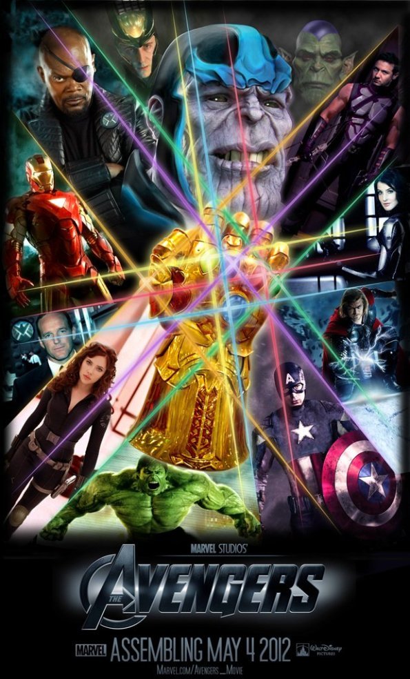 The Avengers - Thanos Fan Made Poster