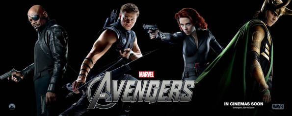 The Avengers (Vingadores) - New Banner 02