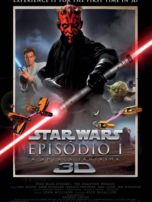 Star Wars - Episódio I - A Ameaça Fantasma 3D