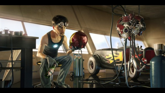 Iron Man for Pixar