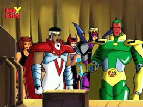 Avengers United They Stand - Animated Serie